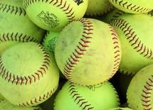 green softballs