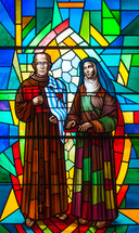 Franciscan monk and nun