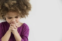 girl child praying