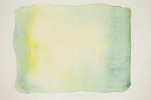 green square watercolor