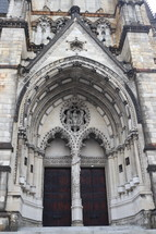 stone cathedral entrance