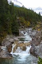 winding stream