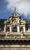 Ornate building.