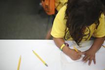 child erasing