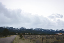 Westcliffe, Colorado mountain range.