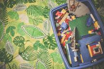 legos in a bucket