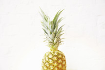 a single pineapple