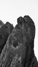 giant rock peaks