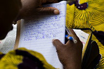 Bible study in Africa