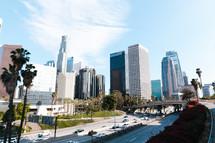 city skyscrapers in Los Angeles