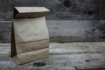 brown paper sack