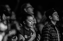 singing in praise