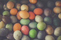 dyed Easter egg background