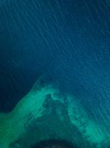 shallow sea water