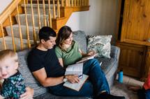 home Bible study group