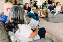 at home Bible study group
