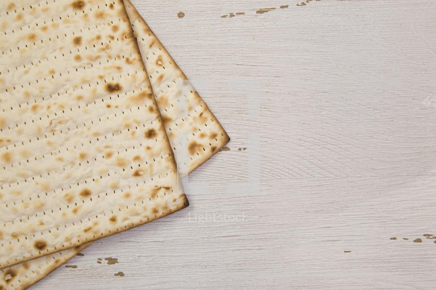 crackers on white wood