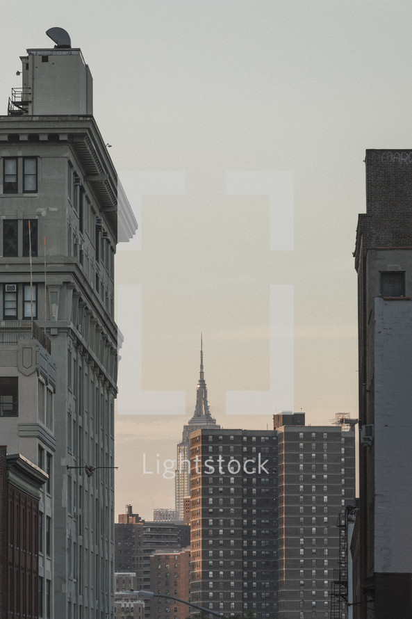city buildings in NYC