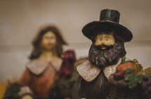 pilgrim figurines
