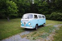 a vintage Volkswagen van