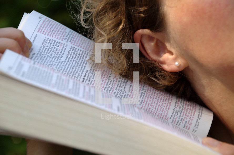 hearing God's word,