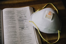 mask and Bible