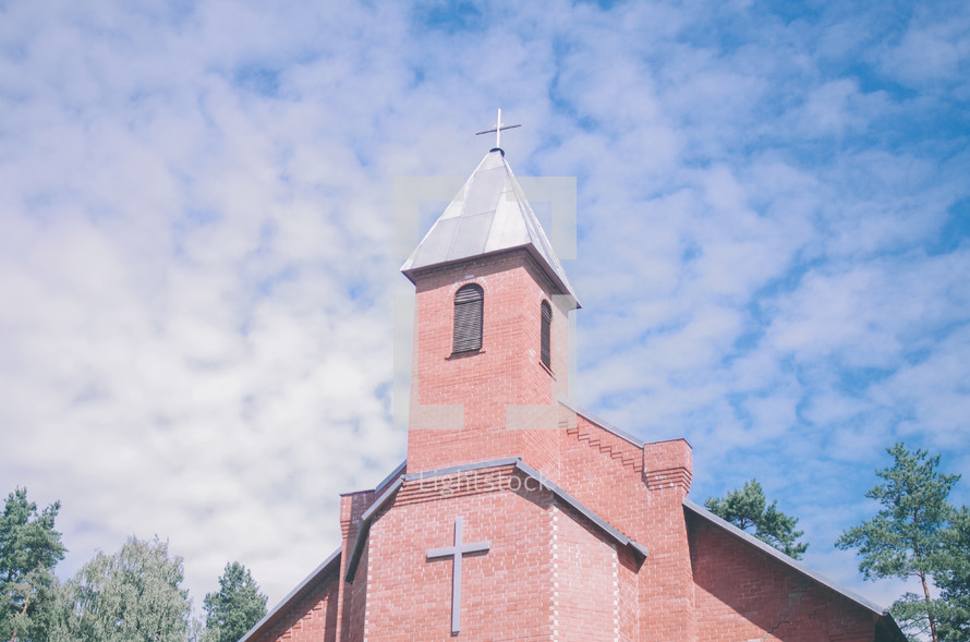 brick church outdoors