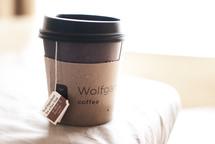 tea bag in a mug