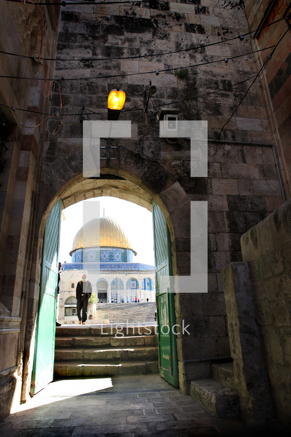 The Dome of the Rock, Temple Mount