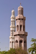tower for a mosque