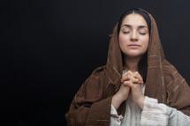 Mary in prayer