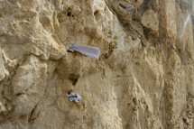 prayers in the wall in Jerusalem
