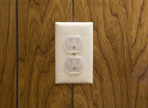safety covers in an outlet