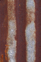 rusty metal stripes