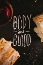 Body and Blood, communion