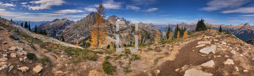 fall mountaintop