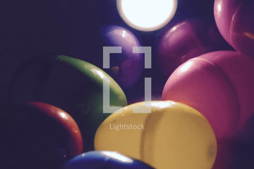Flashlight Easter Egg Hunt background