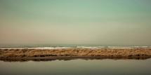 tidal pool and ocean waves