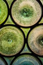 green bottle glass