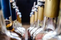 bottles of liquor - alcohol