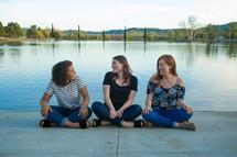 women's group talking