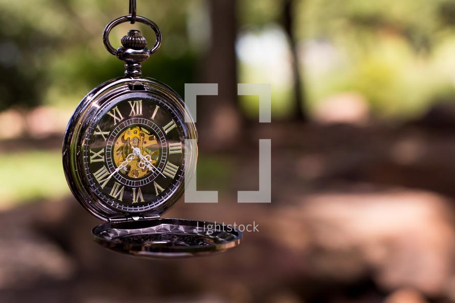 dangling compass