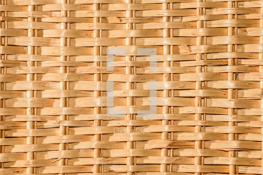 basket weave closeup texture