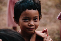 face of an innocent girl