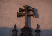 ancient metal cross