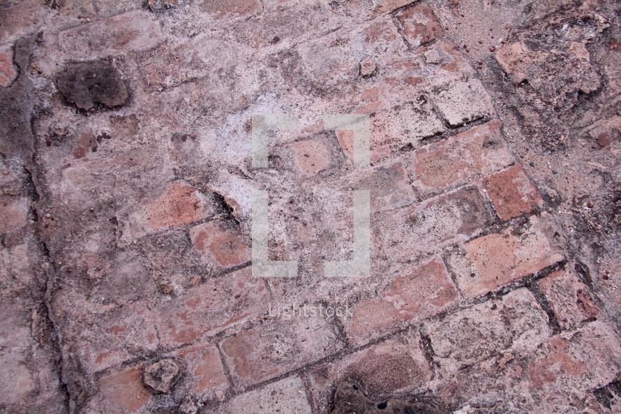 old weathered brick background