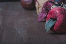 decorative fall apples