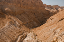 red rock canyon in Israel