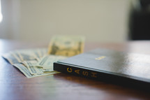 cash and a cash ledger