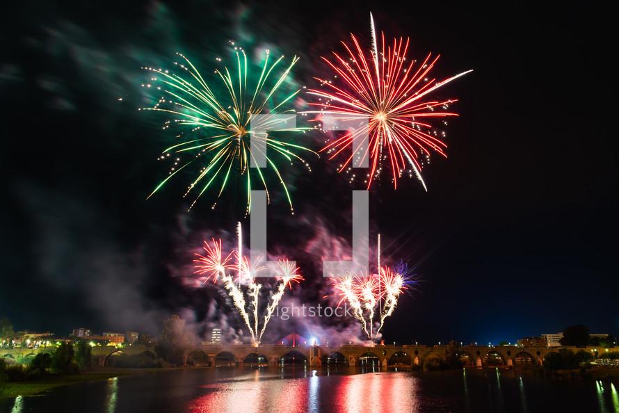 San Juan fireworks, celebration